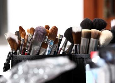 化妆刷清洗术